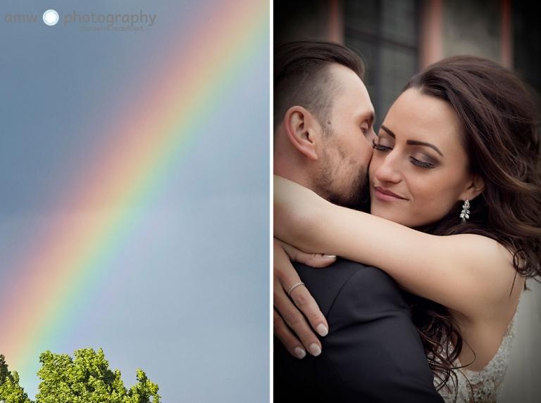 hochzeitsfotografie Hanau Hochzeit nidderau regenbogen