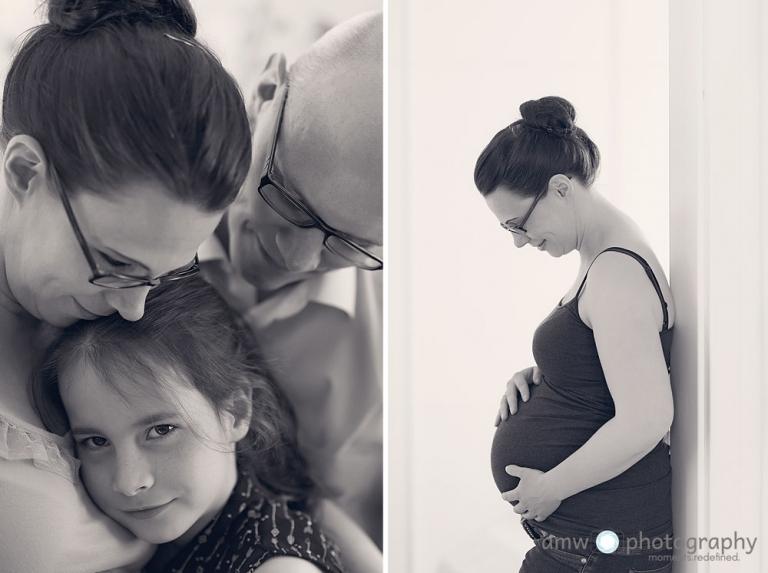 Familie Tochter familienfotograf frankfurt schwangerenfotografie Taunus