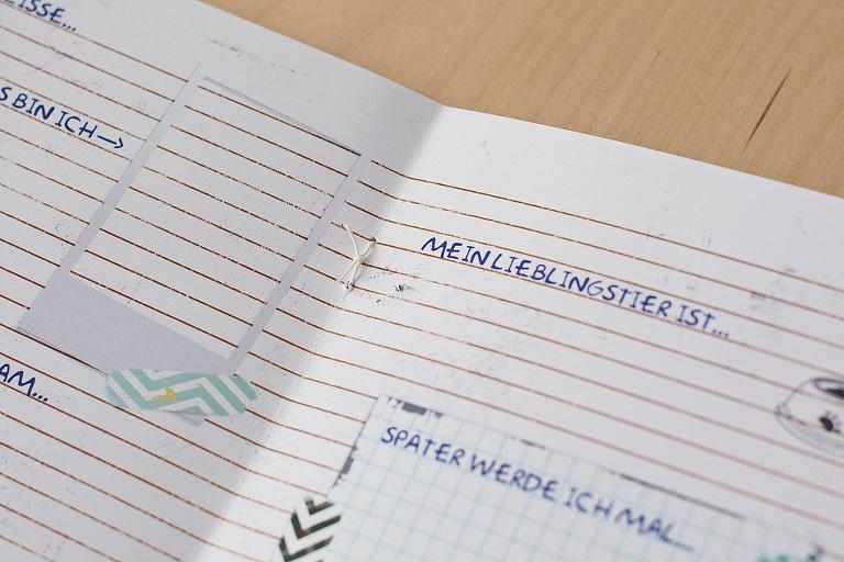 freundebuch basteln diy ausdrucken vorlage